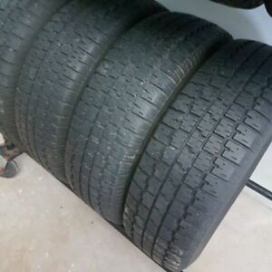 Snow tires 215 75 R15 B.F. GOODRICH