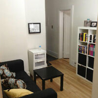 Dtown June-Aug 3.5 (Furnished+PetOK) metro ATWATER 650$ all.INCL