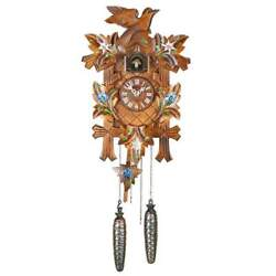 Trenkle Uhren ADELHEIDE Black Forest Cuckoo Clock, 31% off Hermle Listed Price