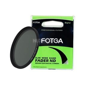FOTGA-Adjustable-Slim-Fader-Variable-ND-filter-ND2-to-ND400-43-86mm-58-67-77-82