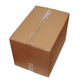 Double sided cardboard boxes