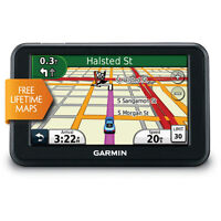 Garmin Nuvi 40LM Portable GPS with Lifetime Maps.
