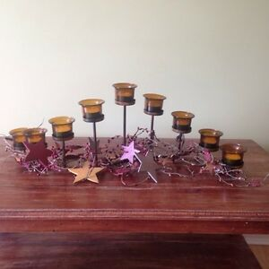 Candelabra - home decore  country themed