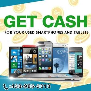 I'LL BUY YOUR USED/NEW  IPHONE, SAMSUNG, GOOGLE PIXEL, TABLET, MACBOOK, LAPTOP