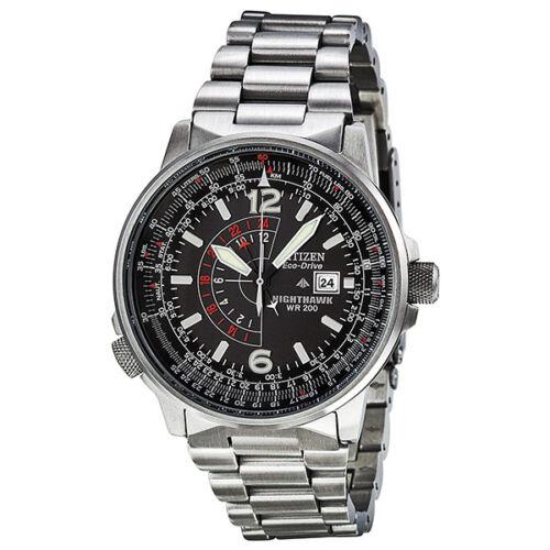 Citizen Nighthawk Eco-Drive Pilot Watch Mens Watch BJ7000-52E Was: $395 Now: $200.