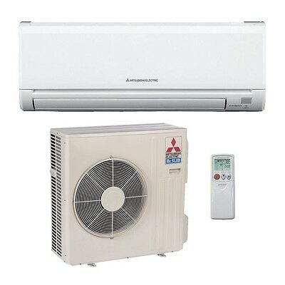 30,000 Btu 16 Seer Mitsubishi Single Zone Mini Split Air Conditioning System