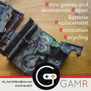 RETRO GAMES - Repair and Recycling