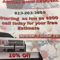 Snow removal  24/7 cheapest in ottawa and business snow