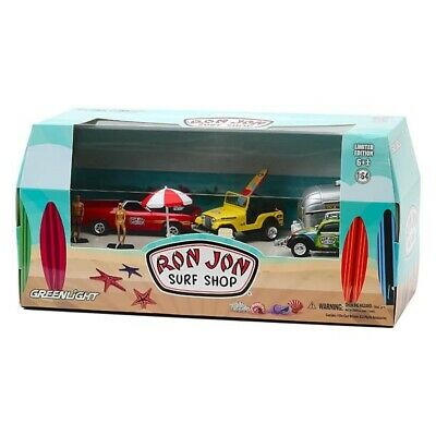 Ron Jon 2020 1:64 Scale Surf Diorama Set Limited Edition Only 2500 Produced MIB