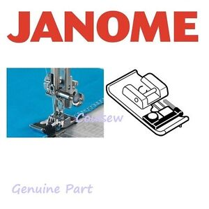 JANOME Overlock Overedge foot top loading sewing machine B+C GENUINE overlocker