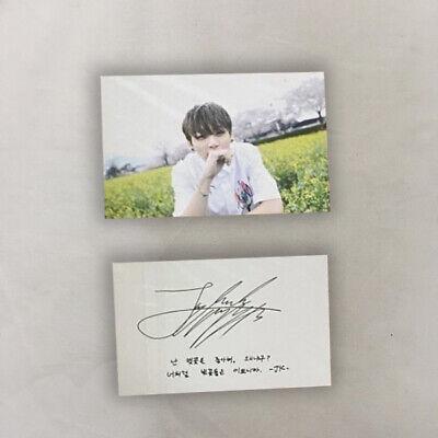 BTS Official Public Broadcast PhotoCard - I need u jungkook