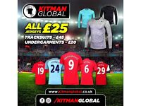Football shirts / tracksuits / gym tops