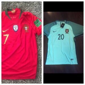 Portugal World Cup jerseys with European champions patch