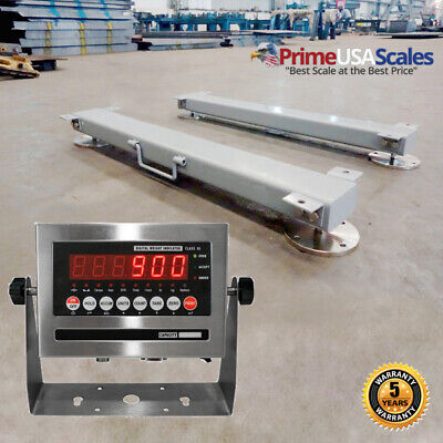 Optima Op-919hd Weigh Bars 60 20000 Lb Livestock Cattle Chute Scale Indicator