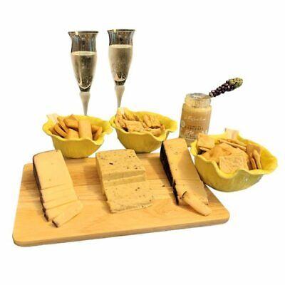 Italian Gourmet Cheese Sampler - Gift Basket Crackers Cheese
