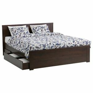 Ikea mattress and Brusali bedframe *no drawers*