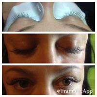 Certified eyelash extension stylist