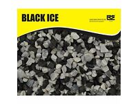 900 kg sack Black Ice garden chips
