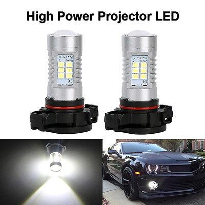 2 x 6000k Xenon White 1200LM 21SMD Fog Light H16 5201 5202 LED Bulb