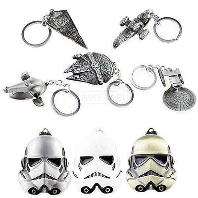 Star Keychain - Star Wars Series Keychain Metal Key Chain Keyring Gift New