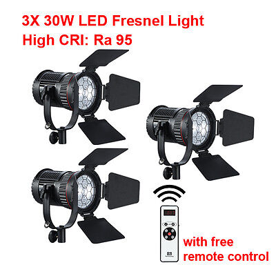 Светильник 3X 30W LED Fresnel Light