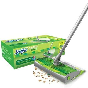 Swiffer sweep trap