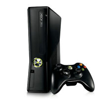 Xbox 360 (250GB) black. comes with controlers, games, headset