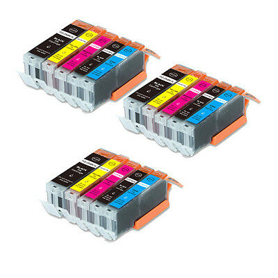 15 PK Quality Printer Ink Set For Canon PGI-250 CLI-251 MG66