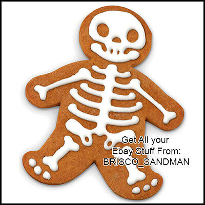 Fridge Fun Refrigerator Magnet GINGERDEAD MAN Funny Gingerbread cookie - Zombie Gingerbread Man