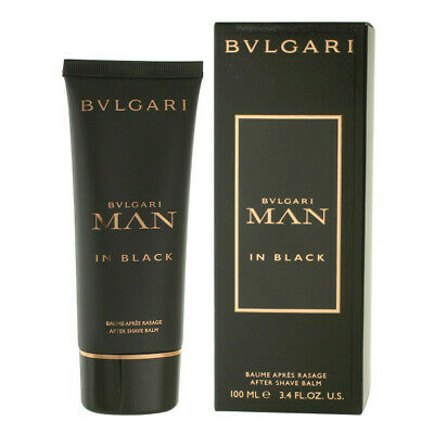 BVLGARI MAN IN BLACK 100ML AFTERSHAVE BALM BRAND NEW & SEALED