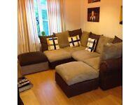 Left hand lovely condition corner sofa £200