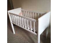 Baby crib, NOT Moses basket, cot