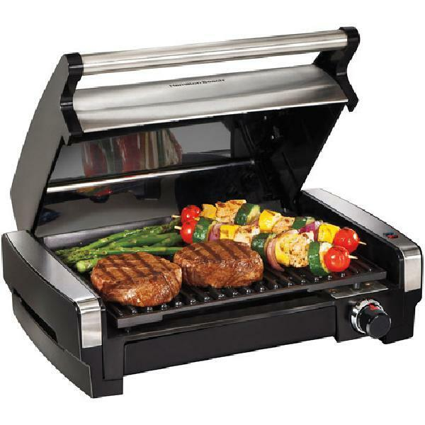 Hamilton Beach 25360 Flavor Searing Indoor Grill, Stainless