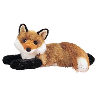 "Douglas ROXY RED FOX Plush Toy 14"" Stuffed Animal NEW"