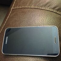 Samsung s5 black unlocked mint condition