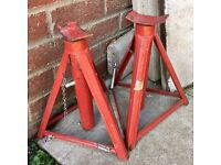 Motor cycle stands