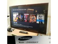 "Samsung LE46A656 TV 46"" Full HD 1080p LCD screen"