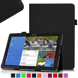 "Folio Samsung Galaxy Tab S 10.5"" PU Leather Case Cover Stand"