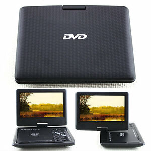 New-9-8-Inch-Portable-EVD-DVD-Player-TV-USB-SD-Games-Radio-Swivel-LCD-Screen-UK