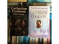 Box of 30 Catherine Cookson hardbacked books