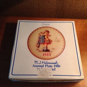 Hummel collectible plate