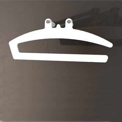BETWEEN attaccapanni servomuto DESIGN in acrilico e acciaio PORTA ABITI moderno