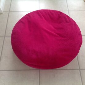 Fuschia Pink Soft Floor Cushion