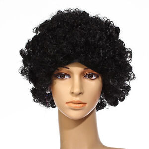 Black-Stylish-Curly-Afro-Wig-Clown-70S-Disco-Style-Unisex-Fancy-Dress-Party