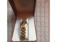 LADIES PAOLO GUCCI GOLD WATCH