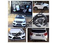 Mercedes A45 AMG 12v White Ride-On