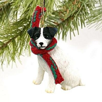 Jack Russell Terrier Christmas Tree Figurine Decoration/Ornament Present/Gift
