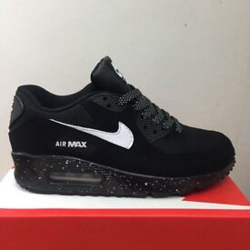 Nike air max 90 Black white dots All Sizes Available