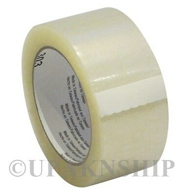 1 Roll Clear Carton Sealing Tape 2 X 110 Yard 330 Ft W Expedited Shipping