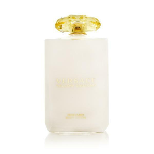 Yellow Diamond by Versace for Women 6.8 oz Delicate Body Lotion Brand New
